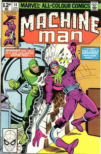 Cover Thumbnail for Machine Man (Marvel, 1978 series) #14 [British]