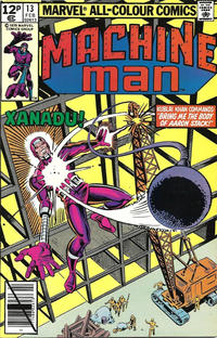 Cover Thumbnail for Machine Man (Marvel, 1978 series) #13 [British]