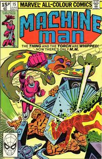 Cover Thumbnail for Machine Man (Marvel, 1978 series) #15 [British]