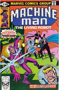 Cover Thumbnail for Machine Man (Marvel, 1978 series) #16 [Direct]