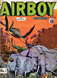 Cover Thumbnail for Airboy Comics (Thorpe & Porter, 1953 series) #1