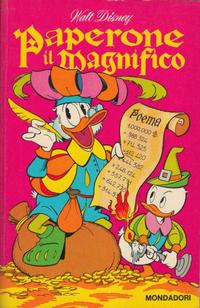 Cover Thumbnail for I Classici di Walt Disney (Arnoldo Mondadori Editore, 1957 series) #[58] - Paperone il magnifico
