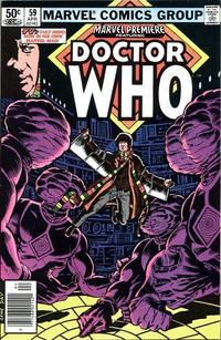Cover for Marvel Premiere (Marvel, 1972 series) #59 [British Price Variant]