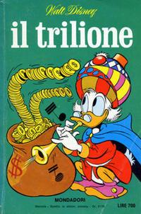Cover Thumbnail for I Classici di Walt Disney (Arnoldo Mondadori Editore, 1977 series) #41 - Il trilione
