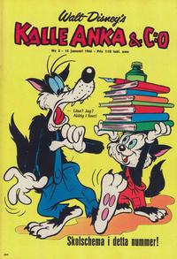 Cover Thumbnail for Kalle Anka & C:o (Hemmets Journal, 1957 series) #2/1966