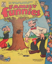 Cover Thumbnail for Family Funnies (Associated Newspapers, 1953 series) #54
