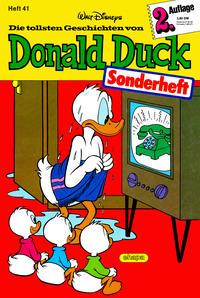 Cover Thumbnail for Die tollsten Geschichten von Donald Duck - Zweitauflage (Egmont Ehapa, 1983 series) #41