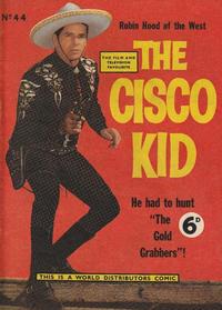 Cover Thumbnail for Cisco Kid (World Distributors, 1952 series) #44