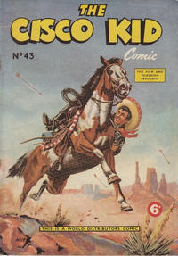 Cover for Cisco Kid (World Distributors, 1952 series) #43