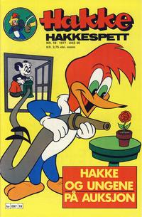Cover Thumbnail for Hakke Hakkespett (Semic, 1977 series) #18/1977