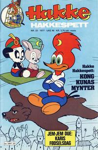 Cover Thumbnail for Hakke Hakkespett (Semic, 1977 series) #22/1977