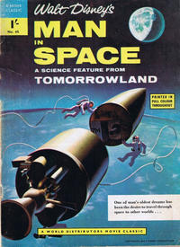 Cover Thumbnail for A Movie Classic (World Distributors, 1956 ? series) #45 - Man In Space