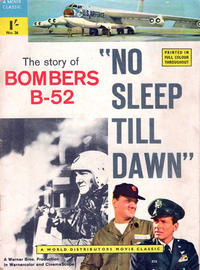 Cover Thumbnail for A Movie Classic (World Distributors, 1956 ? series) #36 - No Sleep Till Dawn: The Story of Bombers B-52