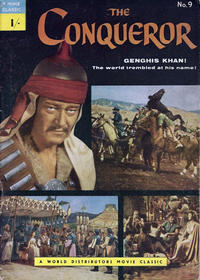 Cover Thumbnail for A Movie Classic (World Distributors, 1956 ? series) #9 - The Conqueror