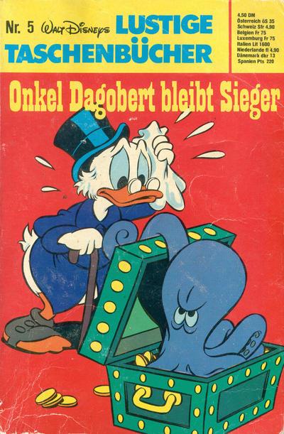 Cover for Lustiges Taschenbuch (Egmont Ehapa, 1967 series) #5 - Onkel Dagobert bleibt Sieger [5,- DM]