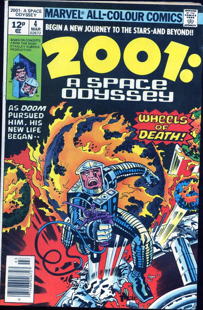 Cover for 2001, A Space Odyssey (Marvel, 1976 series) #4 [Regular Edition]