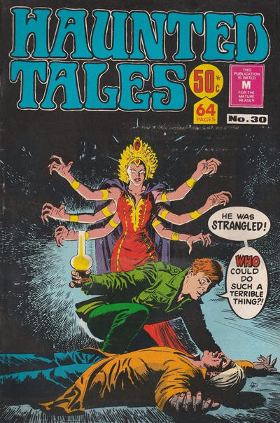 Cover for Haunted Tales (K. G. Murray, 1973 series) #30