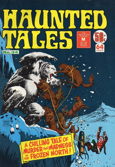 Cover for Haunted Tales (K. G. Murray, 1973 series) #34