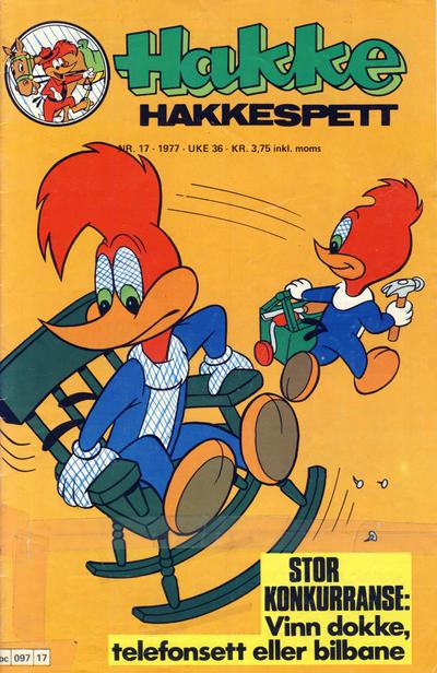 Cover for Hakke Hakkespett (Semic, 1977 series) #17/1977