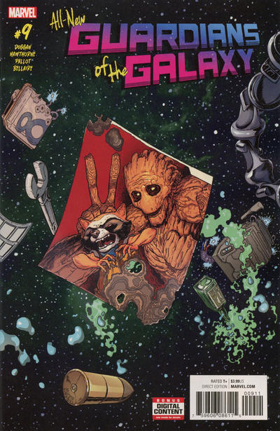 Cover for All-New Guardians of the Galaxy (Marvel, 2017 series) #9
