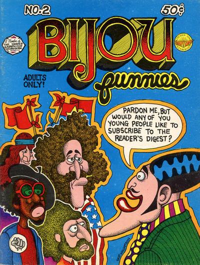 Cover for Bijou Funnies (Kitchen Sink Press, 1972 series) #2 [Third Printing]