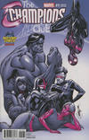 Cover Thumbnail for Champions (2016 series) #1 [Midtown Comics Exclusive J. Scott Campbell Monochromatic Variant]