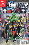 Cover Thumbnail for Champions (2016 series) #1 [Second Printing Variant]
