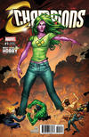 Cover Thumbnail for Champions (2016 series) #1 [Most Good Hobby Exclusive Nei Ruffino Variant]
