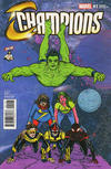 Cover Thumbnail for Champions (2016 series) #1 [CBLDF Exclusive Mike Allred Variant]