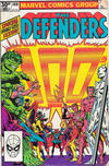 Cover for The Defenders (Marvel, 1972 series) #100 [British]