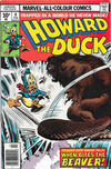 Cover for Howard the Duck (Marvel, 1976 series) #9 [British]