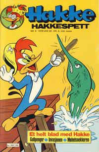 Cover for Hakke Hakkespett (Semic, 1977 series) #5/1978