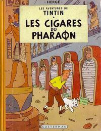 Cover Thumbnail for Les Aventures de Tintin (Casterman, 1934 series) #4 [1955 edition] - Les Cigares du Pharaon