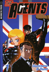 Cover Thumbnail for The Agents (Antarctic Press, 2004 series) #1