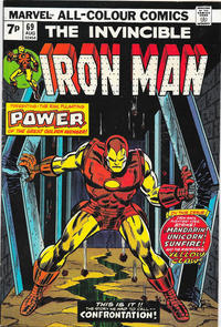 Cover for Iron Man (Marvel, 1968 series) #69 [Regular Edition]