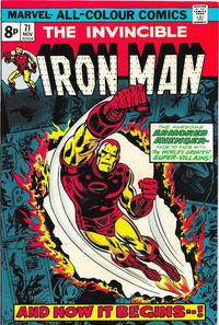 Cover for Iron Man (Marvel, 1968 series) #71 [Regular Edition]