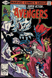 Cover Thumbnail for Marvel Super Action (Marvel, 1977 series) #22 [Direct Edition]