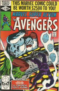 Cover Thumbnail for Marvel Super Action (Marvel, 1977 series) #23 [Direct Edition]