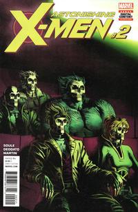 Cover Thumbnail for Astonishing X-Men (Marvel, 2017 series) #2 [Mike Deodato Jr.]