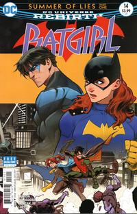 Cover Thumbnail for Batgirl (DC, 2016 series) #14 [Dan Mora Cover]