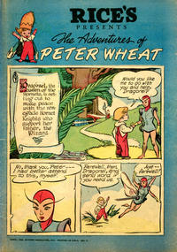 Cover Thumbnail for The Adventures of Peter Wheat (Peter Wheat Bread and Bakers Associates, 1948 series) #31 [Rice's]