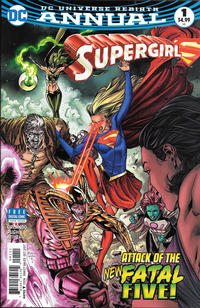 Cover Thumbnail for Supergirl Annual (DC, 2017 series) #1