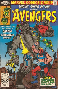 Cover Thumbnail for Marvel Super Action (Marvel, 1977 series) #30 [Direct Edition]
