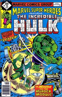 Cover for Marvel Super-Heroes (Marvel, 1967 series) #75 [Regular Edition]