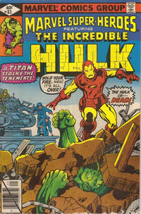 Cover for Marvel Super-Heroes (Marvel, 1967 series) #83 [Direct Edition]