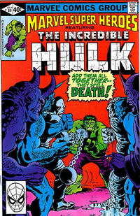 Cover for Marvel Super-Heroes (Marvel, 1967 series) #89 [Direct Edition]