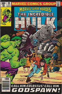 Cover for Marvel Super-Heroes (Marvel, 1967 series) #94 [Direct Edition]