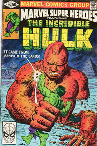 Cover Thumbnail for Marvel Super-Heroes (Marvel, 1967 series) #95 [Direct Edition]