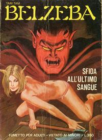 Cover Thumbnail for Belzeba (Edifumetto, 1977 series) #25
