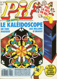 Cover Thumbnail for Pif (Éditions Vaillant, 1986 series) #979